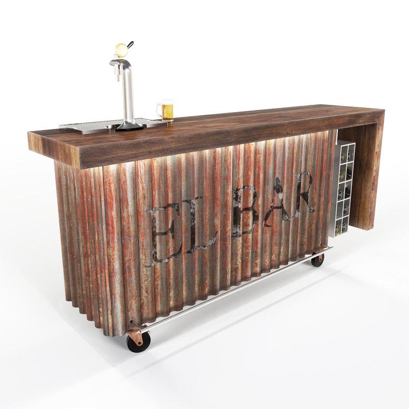 mobile bar model