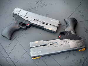 concept weapons 3D model