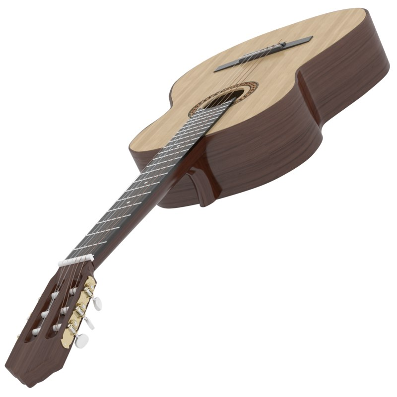 3D classic guitar