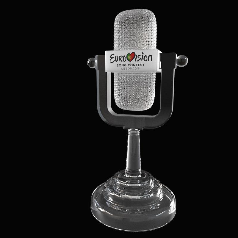 3D eurovision microphone
