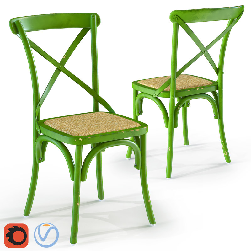 3D model furnishings seating chair