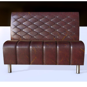 pbr fast food sofa model
