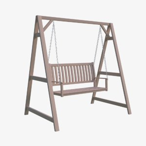 3D swing chair