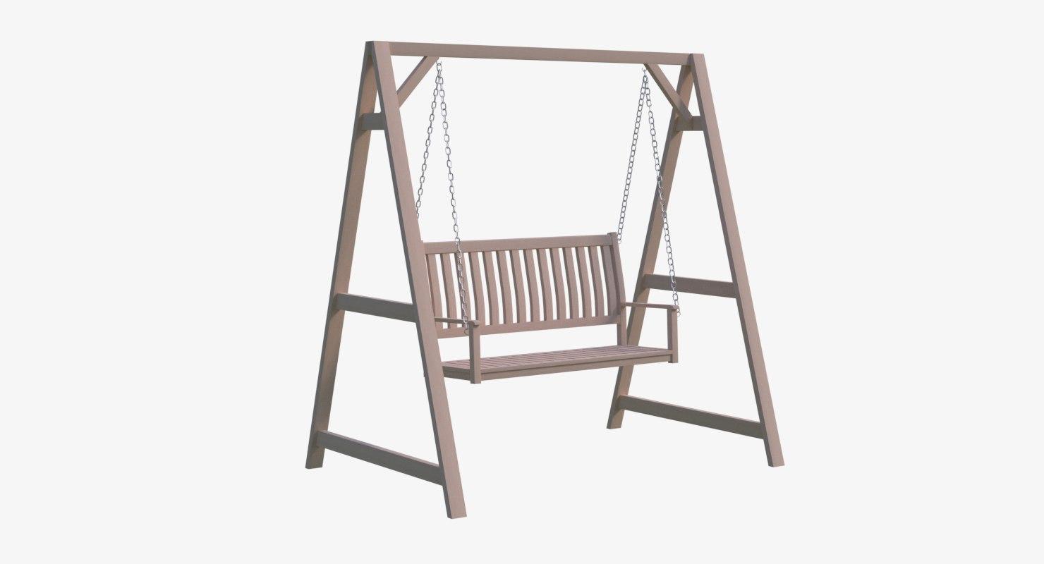 3D swing chair