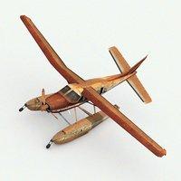 damage airplane model