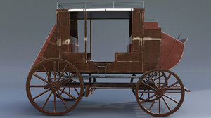 wagon carriage vehicle model