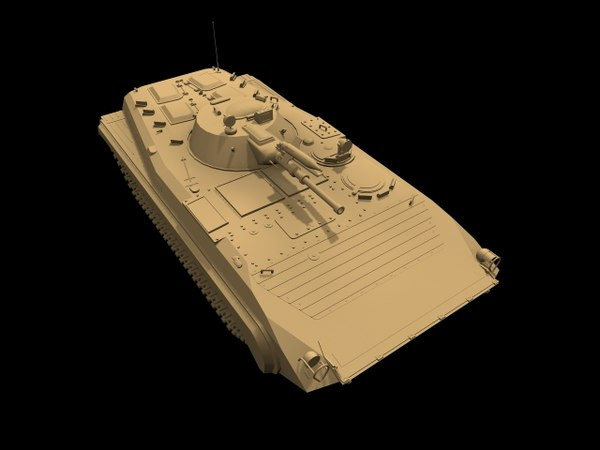 3D russian armored vehicle bmp-f1