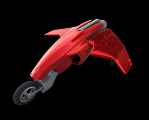 3D vehicle craft model