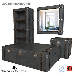 3D furniture set timothy oulton
