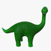 3D dinosaur 03 model