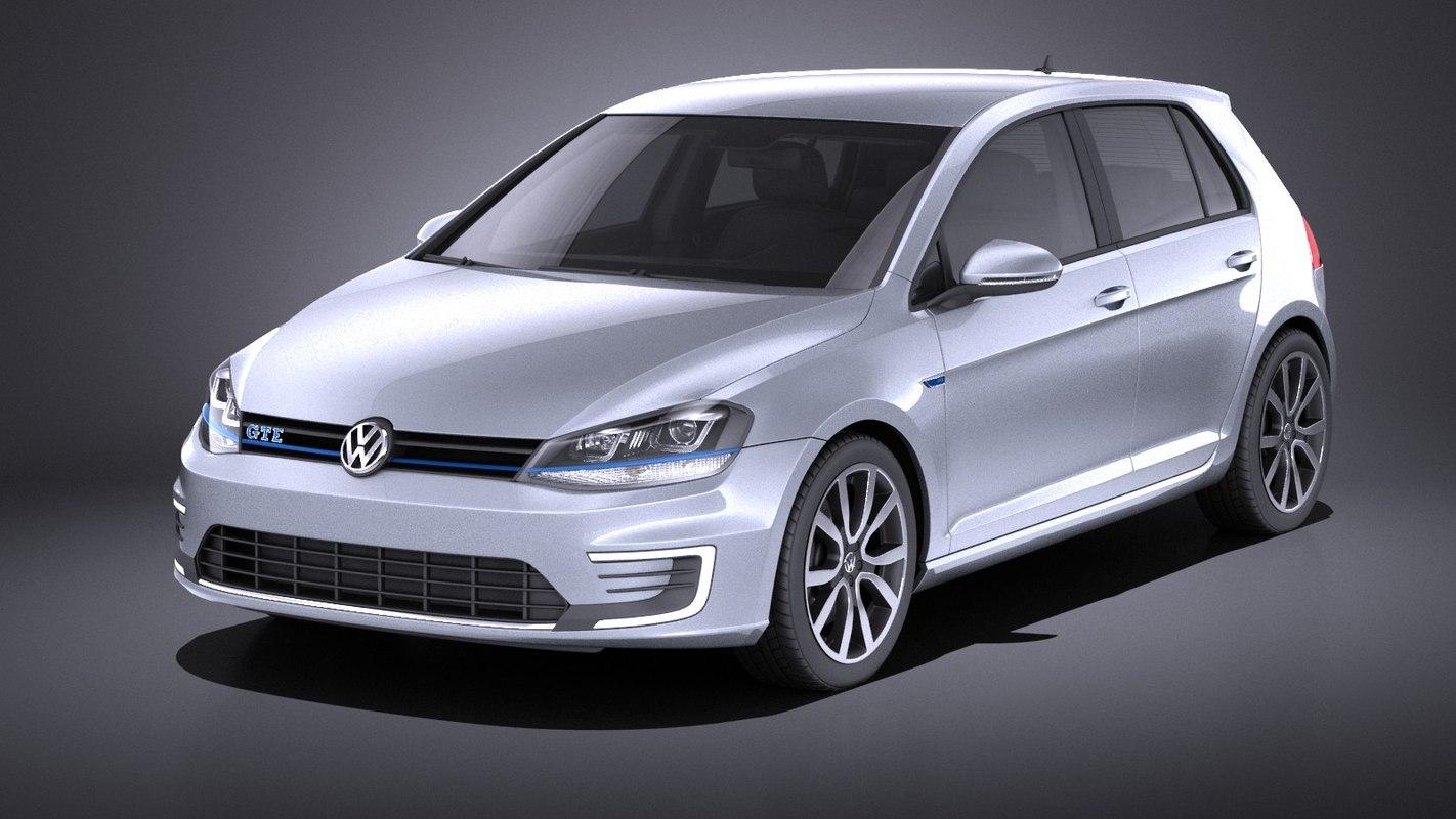 2015 volkswagen golf 3D model