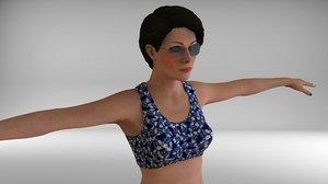 3D modal model