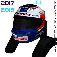 rosenqvist helmet e 3D