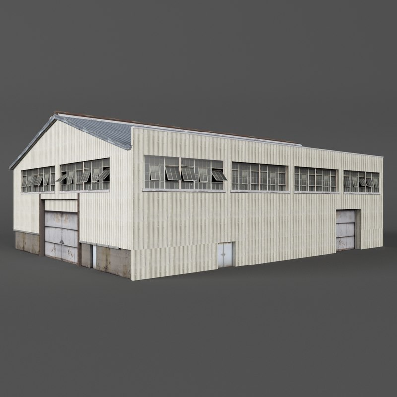 warehouse building games 3D model