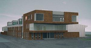 building station 3D