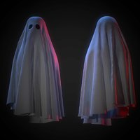 ghost cloth 3D model