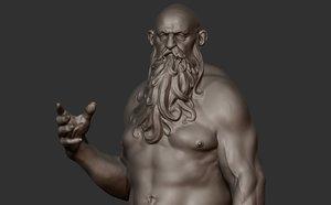 3D sculpture character