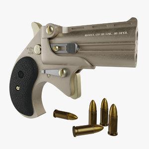 mini pistol corba pbr 3D model
