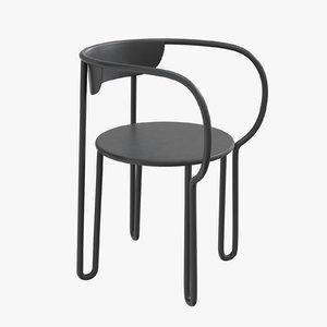 3D huggy chair maiori obodo model