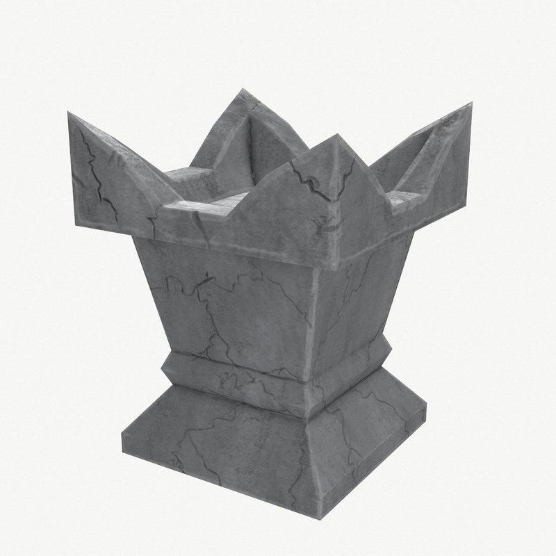 plinth 3D