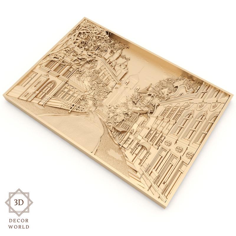 panel 6 - city 3D model