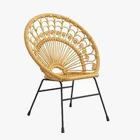 kali chair rattan - model