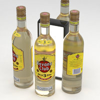3D model rum havana