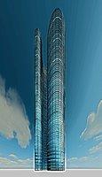 Luxury 3d Realistic SkyScraper