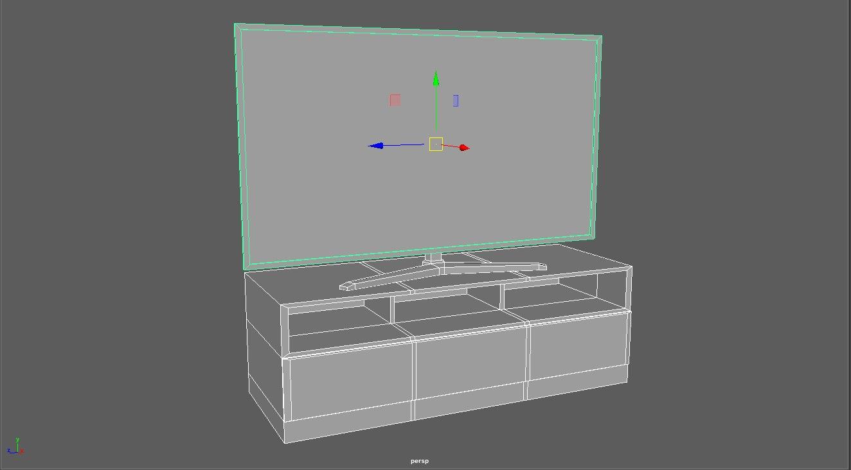 vr tv cabinet 3D