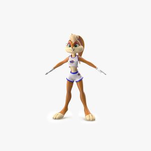 3D lola bunny cartoon animation