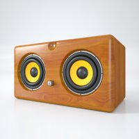 bluetooth speaker 3D model