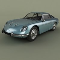 1961 renault alpine a110 model