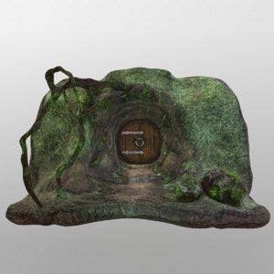 entrance house goblin 3D