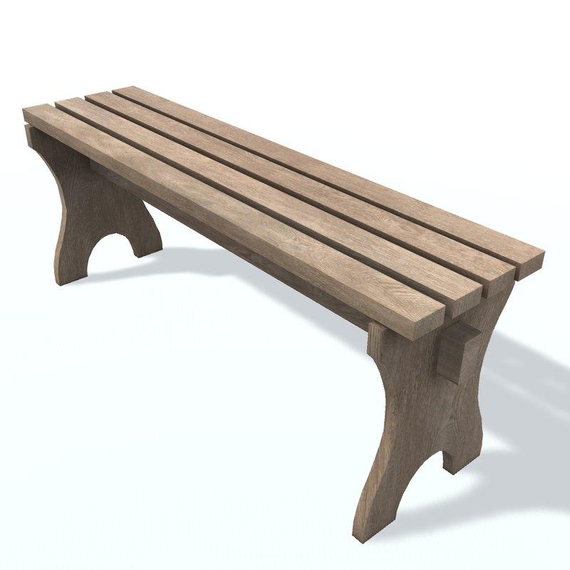 3D usual bench o v