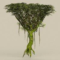 3D ready tree model