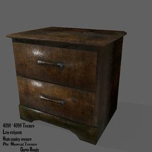 3D console model