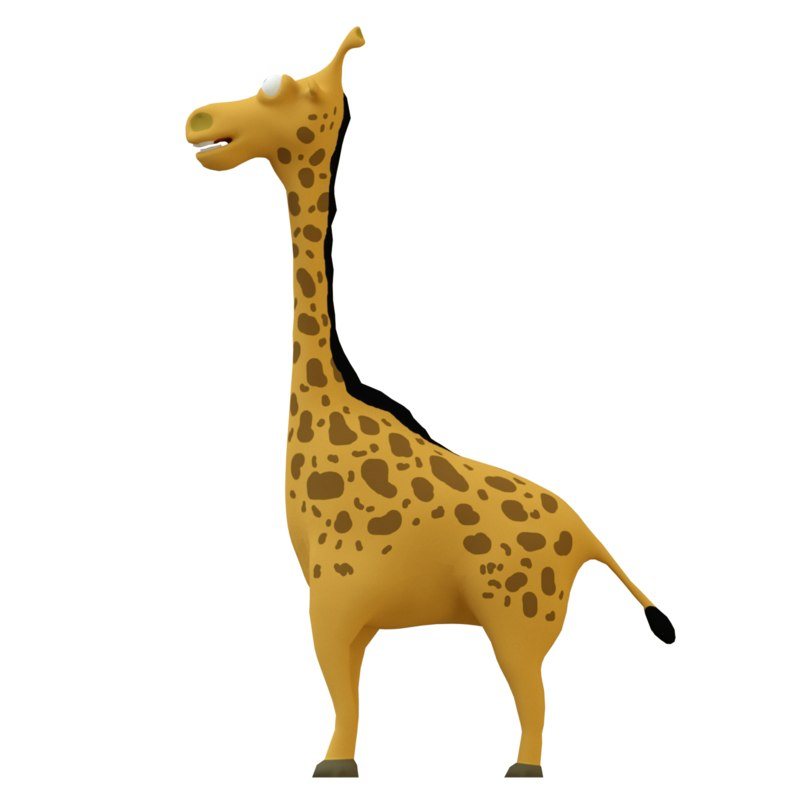 3D giraf giraffe model