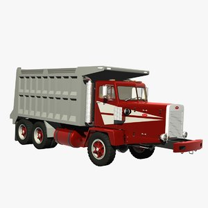 3D model 346 dump truck