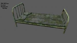 old bed model