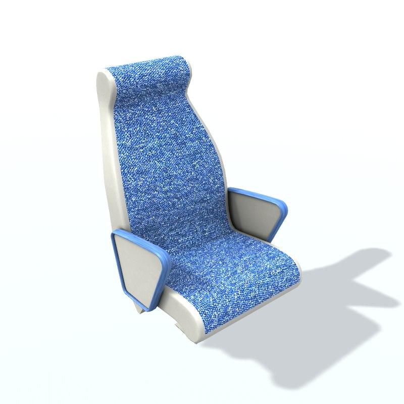 3D passenger seat 1