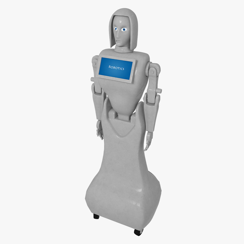 female robot model