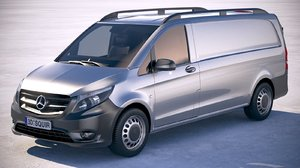 3D mercedes vito long