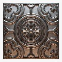 3D old tin tiles