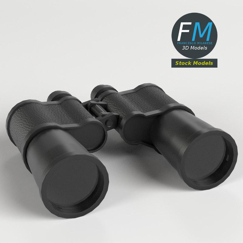 3D binoculars lenses