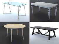 Tables collection (set of 9)