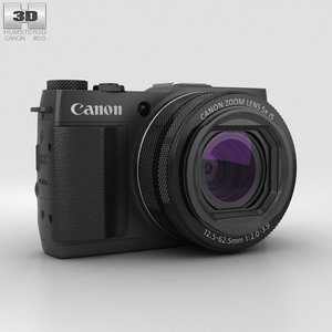 3D canon powershot power model