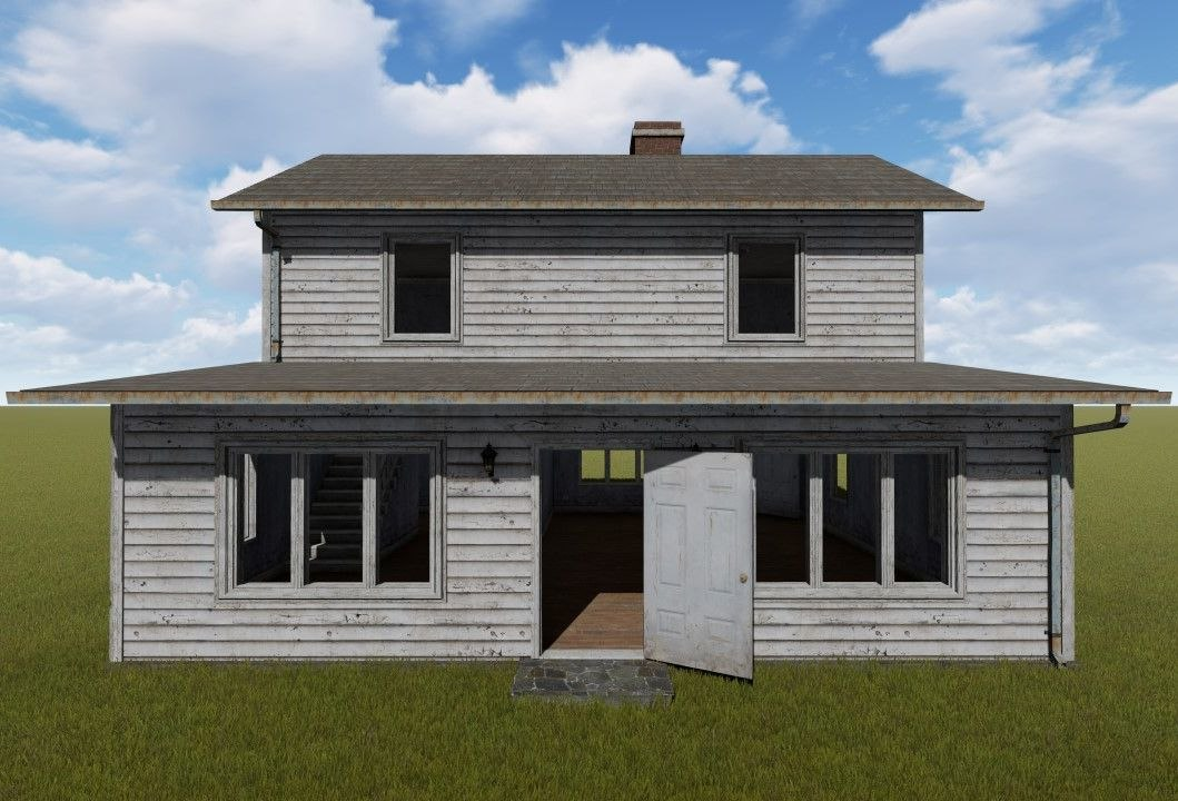 town home ready 3D model