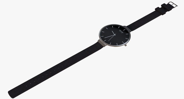 simplistic wrist watch model