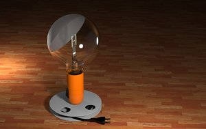 table lamp 3D