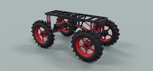 3D chassis truck